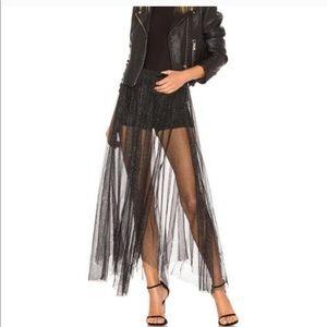 NWT Free People glitter skirt size small